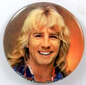 Status Quo - 'Rick Parfitt' New Large Button Badge